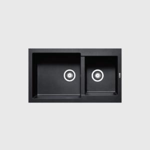 1 1 300x300 - Chậu rửa chén Hafele HS-G8650 màu đen