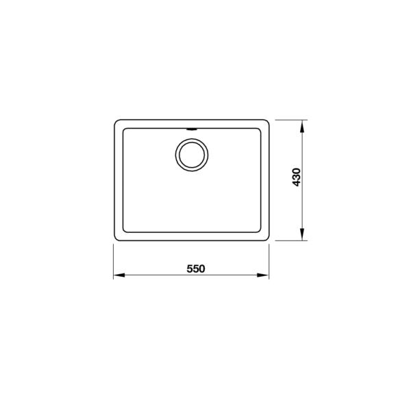 2 5 600x600 - Chậu đá Hafele Antonius HS-GS5543