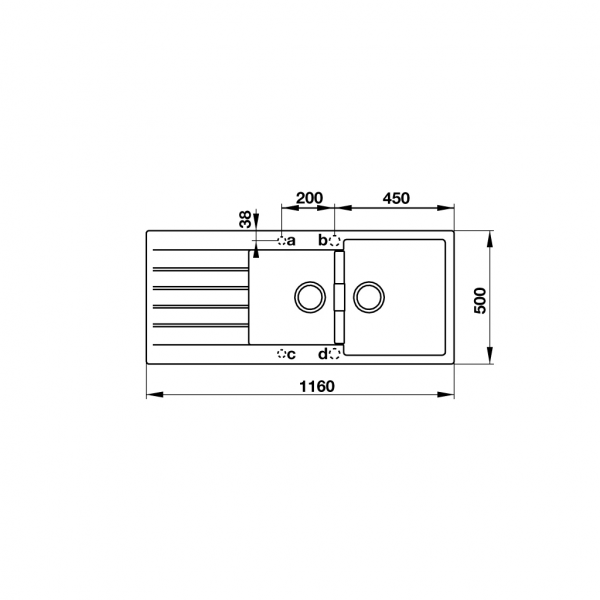 2 600x600 - Chậu đá Hafele Antonius HS-GDD11650