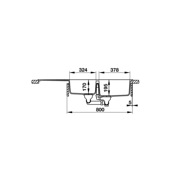 3 600x600 - Chậu đá Hafele Antonius HS-GDD11650