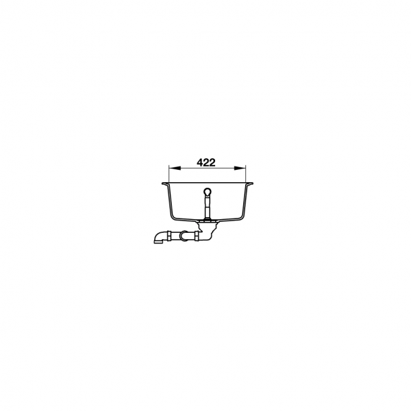 4 5 600x600 - Chậu đá Hafele Julius HS-GDD11650