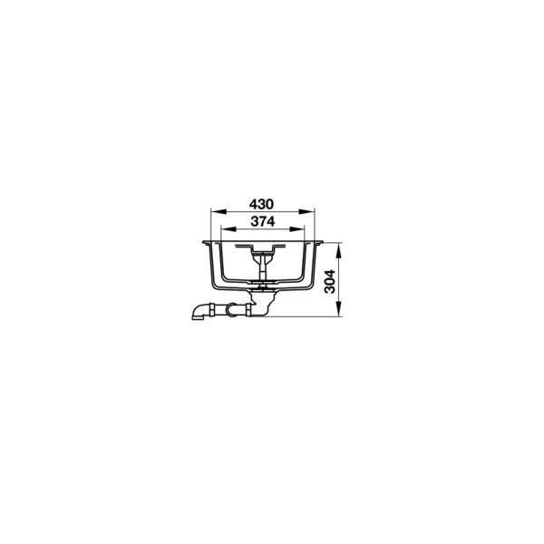 4 600x600 - Chậu đá Hafele Antonius HS-GDD11650