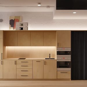 TBI0008 300x300 - Tủ bếp hiện đại kiểu chữ I TBI0008
