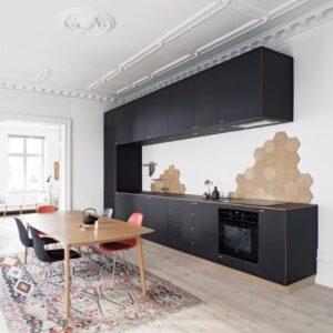 TBI0009 300x300 - Tủ bếp hiện đại kiểu chữ I TBI0009