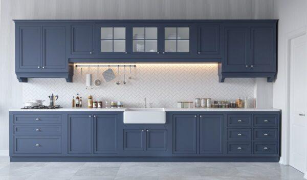 TBI0012 600x351 - Tủ bếp hiện đại kiểu chữ I TBI0012