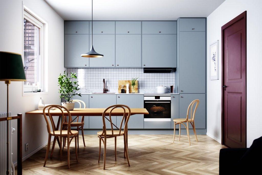 TBI0013 1024x683 - Nên chọn bề mặt phủ nào cho tủ bếp? Tốt gỗ phải tốt cả nước sơn