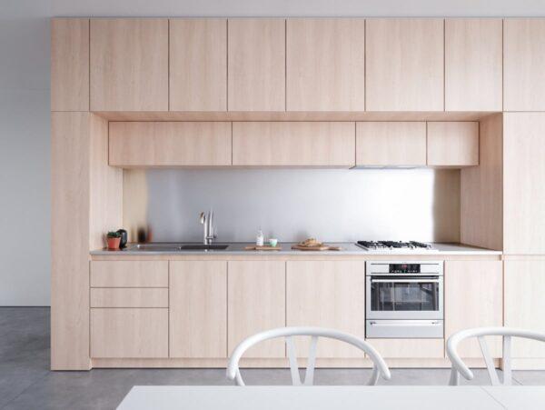 TBI0016 600x451 - Tủ bếp hiện đại kiểu chữ I TBI0016