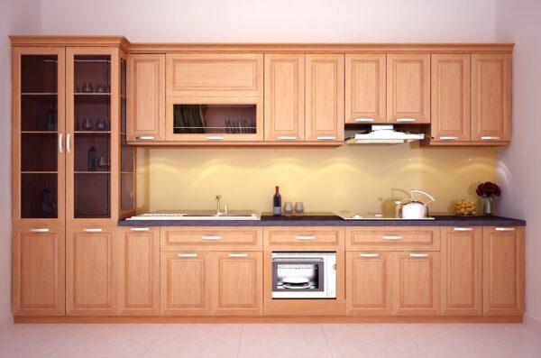 TBI0020 600x397 - Tủ bếp hiện đại kiểu chữ I TBI0020