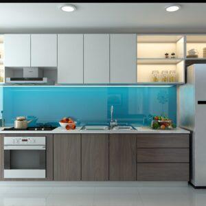TBI0024 300x300 - Tủ bếp hiện đại kiểu chữ I TBI0024