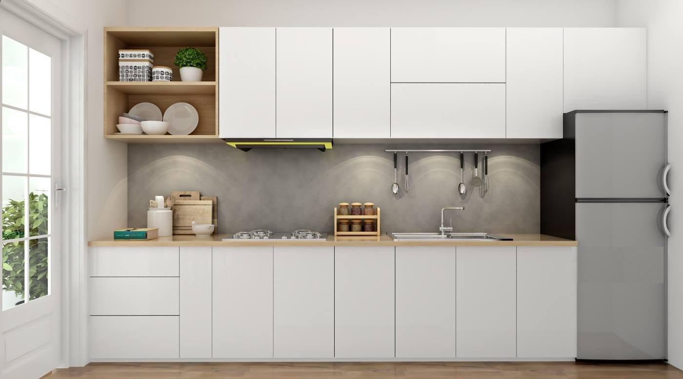 Tủ bếp hiện đại kiểu chữ I TBI0025 - BKitchen