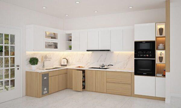 TBL1016 600x360 - Tủ bếp hiện đại kiểu chữ L TBL1016