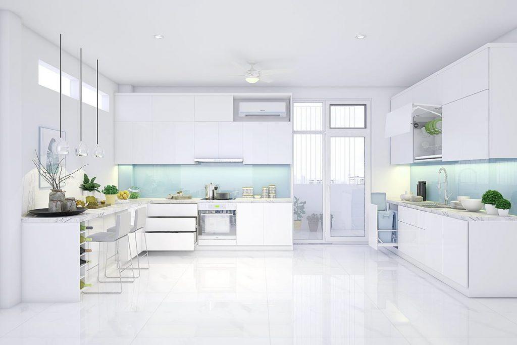TBU0002 1024x683 - Nên chọn bề mặt phủ nào cho tủ bếp? Tốt gỗ phải tốt cả nước sơn