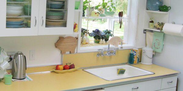 Thử ngay phong cách Retro cho tủ bếp –  Không sợ lỗi mốt