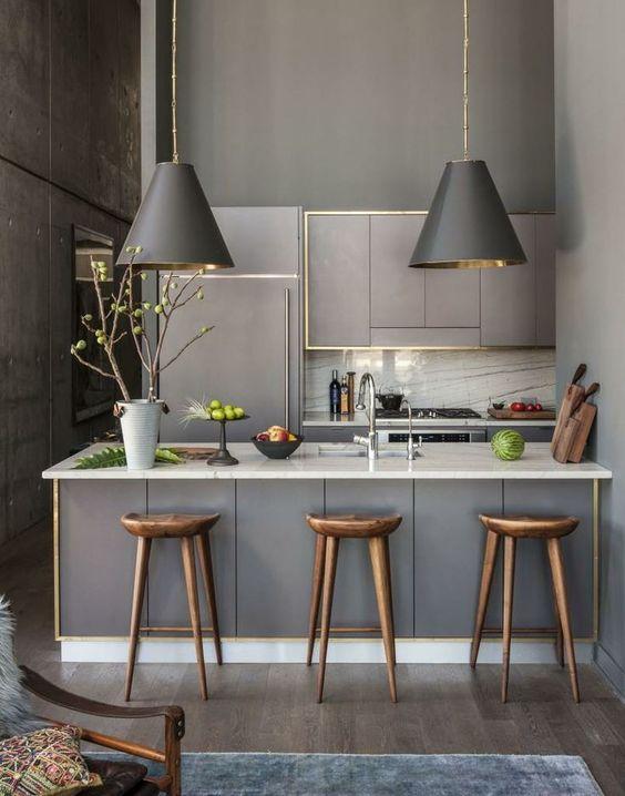 0d6cfdaebcd2521170ebacfbb9dbbbf7 - Tủ bếp chữ I - lựa chọn hoàn hảo cho không gian nhà nhỏ