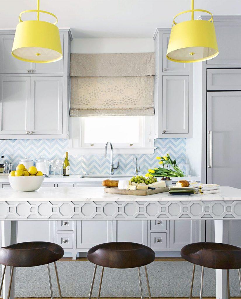 18 y tuong nha bep day mau sac lam bung sang ngoi nha ban 4 825x1024 - 18 ý tưởng nhà bếp đầy màu sắc làm bừng sáng ngôi nhà bạn