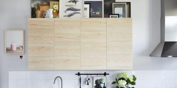 Tận dụng không gian trên đầu tủ bếp thật hữu ích
