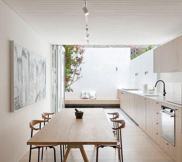 Tủ bếp nối dài có một không hai
