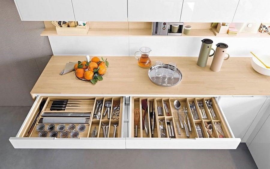Muốn tủ bếp lúc nào cũng gọn gàng, ngăn nắp? Thử ngay những thiết kế này nhé!