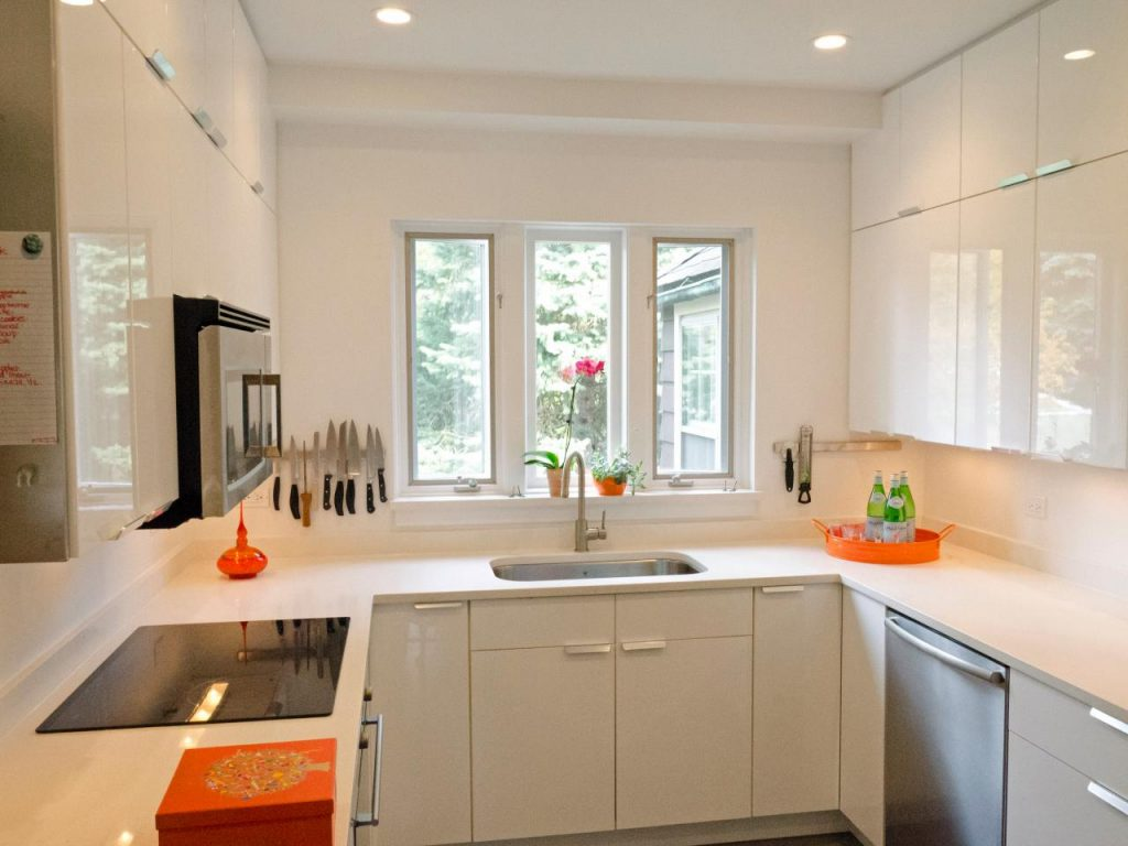 Nice Color Ideas for Small Kitchen 1024x768 - Những sai lầm nghiêm trọng trong thiết kế nhà bếp và giải pháp cực đơn giản