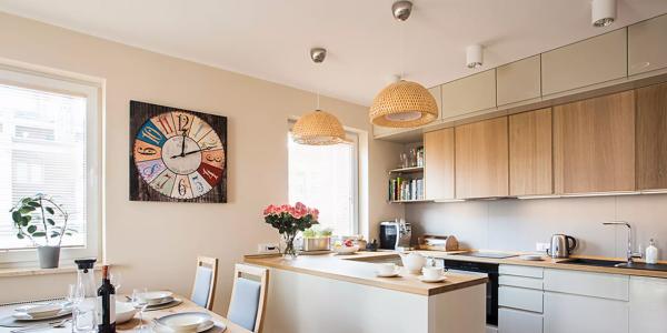 Bắt kịp xu hướng tối giản trong trang trí gian bếp hiện đại