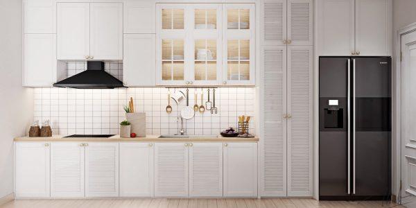 Tủ bếp hay tủ quần áo? Thiết kế độc đáo không lẫn vào đâu