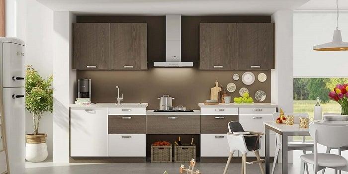 Tủ bếp chữ I – lựa chọn hoàn hảo cho không gian nhà nhỏ