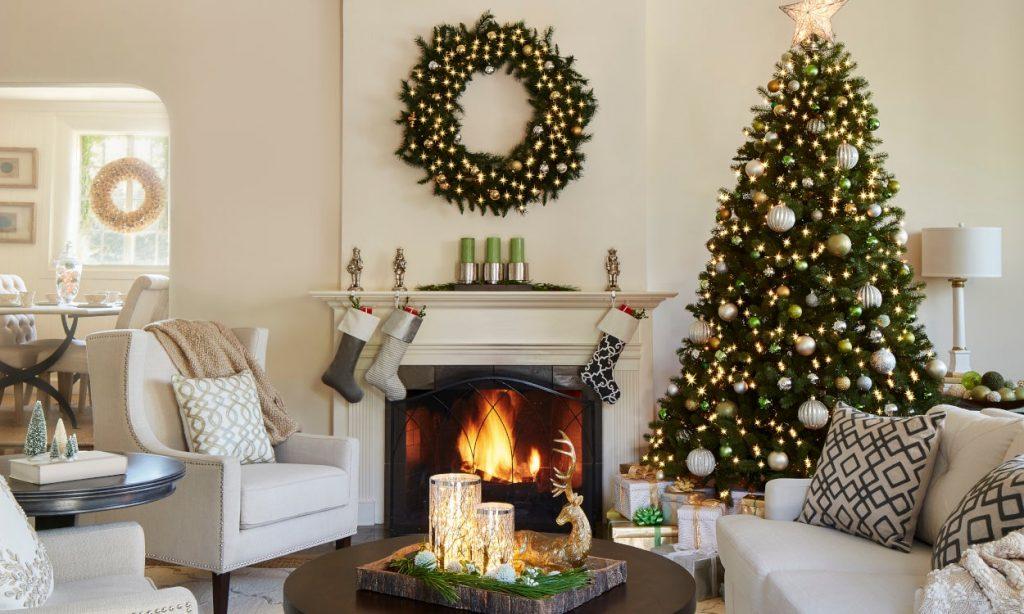 bep dep lung linh voi y tuong trang tri hien dai 5 1024x614 - Bếp đẹp lung linh đón Giáng Sinh với những ý tưởng trang trí hiện đại
