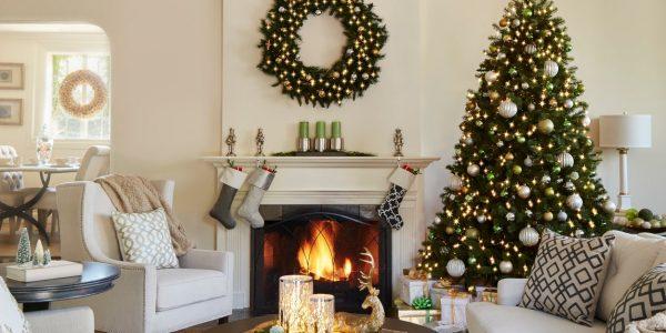 Bếp đẹp lung linh đón Giáng Sinh với những ý tưởng trang trí hiện đại