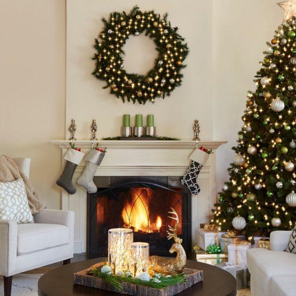 bep dep lung linh voi y tuong trang tri hien dai 5 600x600 - Bếp đẹp lung linh đón Giáng Sinh với những ý tưởng trang trí hiện đại