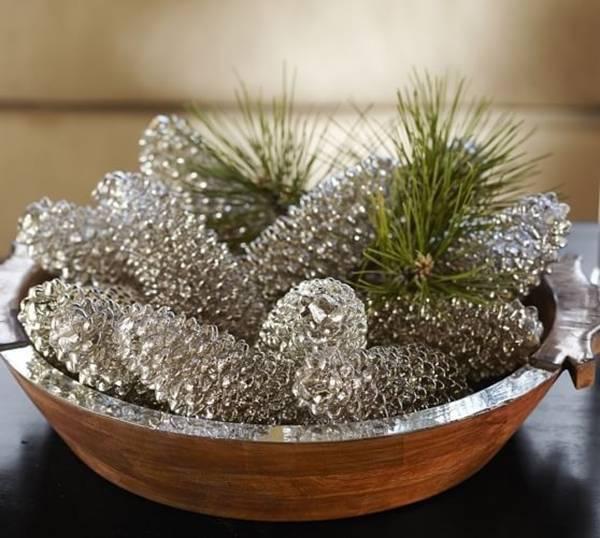 bep dep lung lnh voi y tuong decor hien dai2 - Bếp đẹp lung linh đón Giáng Sinh với những ý tưởng trang trí hiện đại