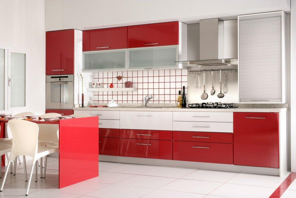 bigstock an image of Modern Kitchen dra 26802038 1024x683 - 4 gam màu tủ bếp được yêu thích nhất mùa lễ tết