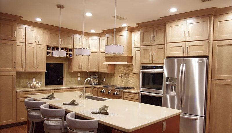 25 thiet ke tu bep shaker 1 - 25 thiết kế tủ bếp lấy lòng bạn từ cái nhìn đầu tiên