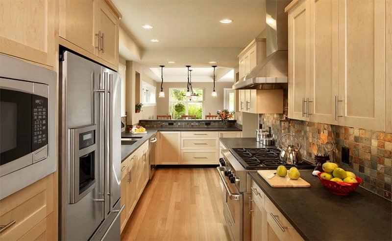25 thiet ke tu bep shaker 10 - 25 thiết kế tủ bếp lấy lòng bạn từ cái nhìn đầu tiên