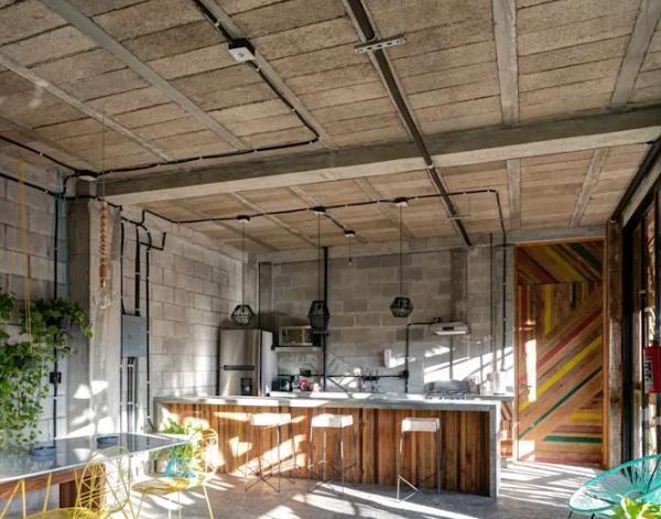 5 thiet ke phong bep tu nhien 600x471 - 8 phòng bếp tự nhiên, ấm áp của những gia đình khỏe mạnh, hạnh phúc