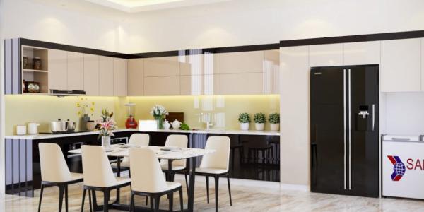 5 mẫu bếp đẹp cho không gian nhà rộng