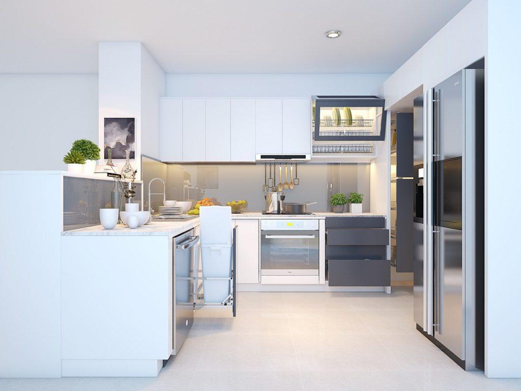 Mach ban nhung dieu can luu y khi thiet ke tu bep 5 1024x768 - Mách bạn 5 lưu ý khi thiết kế tủ bếp