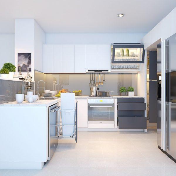 Mach ban nhung dieu can luu y khi thiet ke tu bep 5 600x600 - Mách bạn 5 lưu ý khi thiết kế tủ bếp