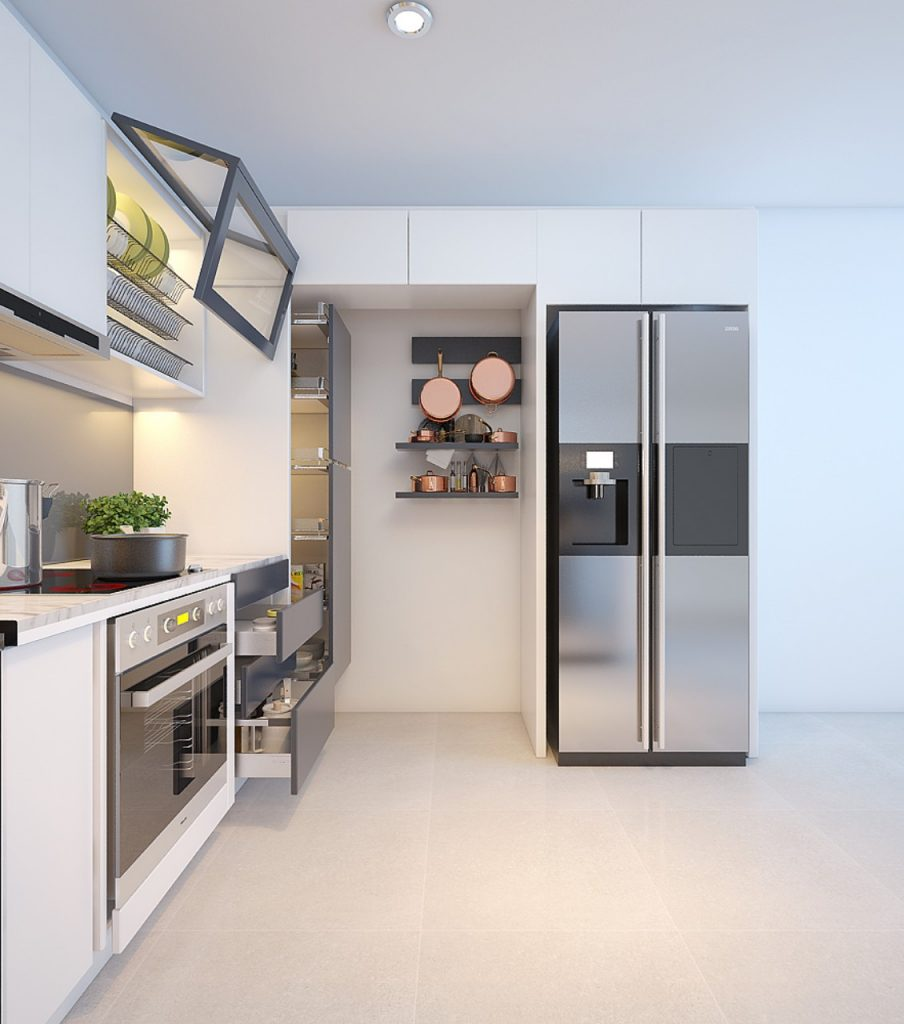 Mach ban nhung dieu can luu y khi thiet ke tu bep 6 904x1024 - Mách bạn 5 lưu ý khi thiết kế tủ bếp
