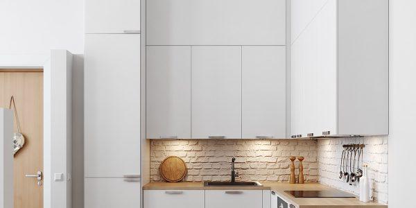 Mẫu tủ bếp hình chữ L đẹp không tưởng dành riêng cho bạn