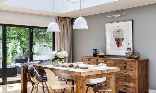 Gợi ý thiết kế giếng trời cho căn bếp sang trọng