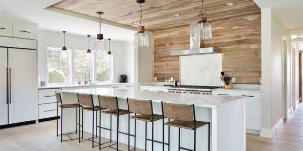 10 thiết kế nhà bếp hiện đại mộc mạc đẹp mê hồn