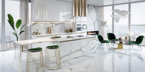 Thiết kế nhà bếp sang trọng – khẳng định vị thế của gia chủ