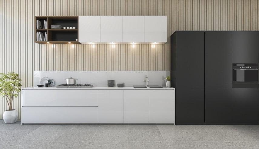 tu bep acrylic 3 - Tại sao nên chọn tủ bếp phủ Acrylic?