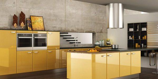 Tại sao nên chọn tủ bếp phủ Acrylic?