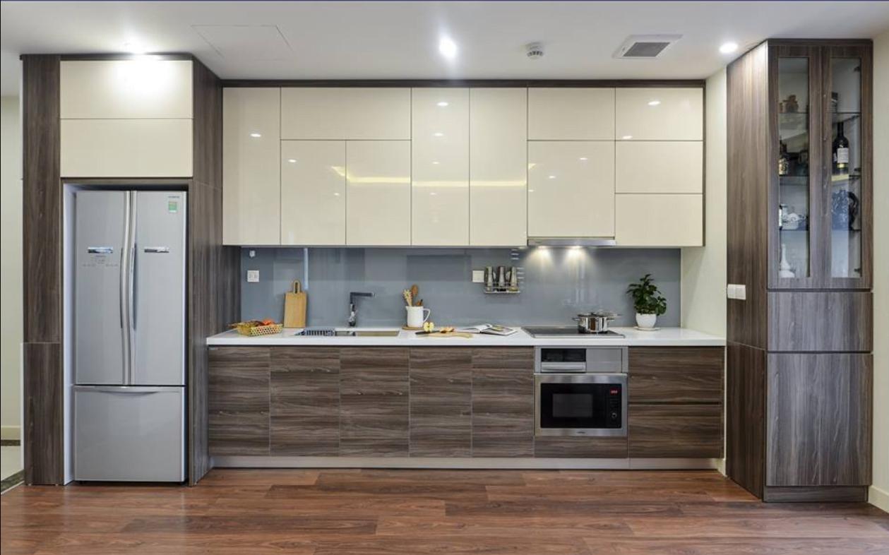 Tủ bếp chữ I – lựa chọn tuyệt vời, tiện nghi hoàn hảo cho nhà chung cư