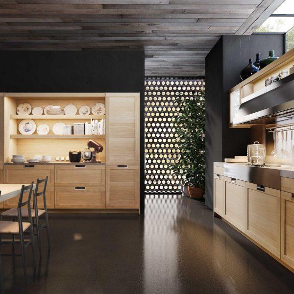 cac kieu tay nam tu bep 9 600x600 - Những giải pháp về màu sơn giúp không gian bếp thêm sang trọng