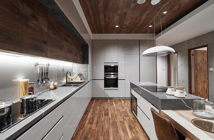 lan gio moi tu go cong nghiep trong gia dinh 6 - Làn gió mới từ gỗ công nghiệp cho gian bếp gia đình