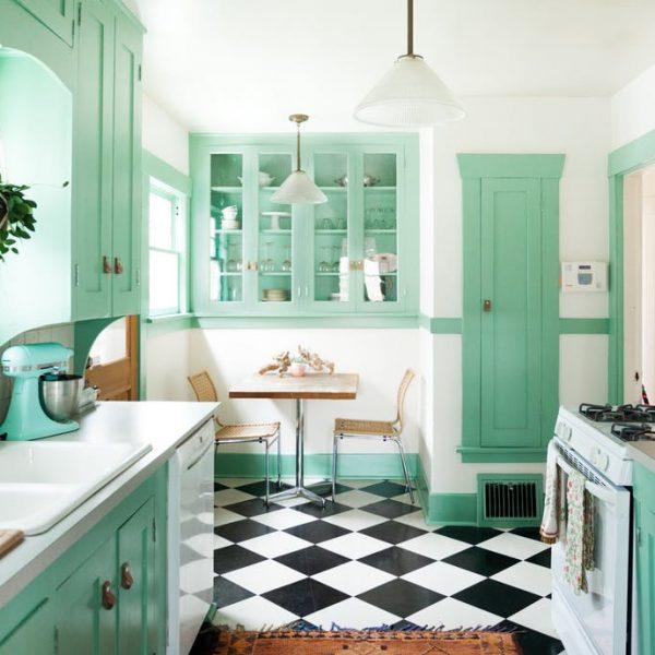 8 mau sac thu vi cho tu bep 1 600x600 - 5 màu sắc thú vị cho tủ bếp
