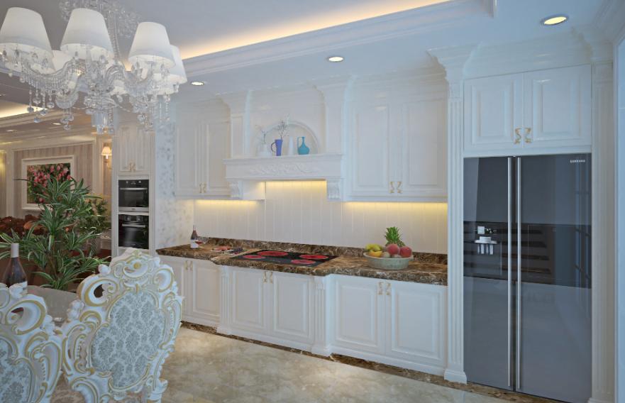 Mau tu bep phong cach tan co dien 13 - Những lưu ý khi chọn thiết kế tủ bếp tân cổ điển