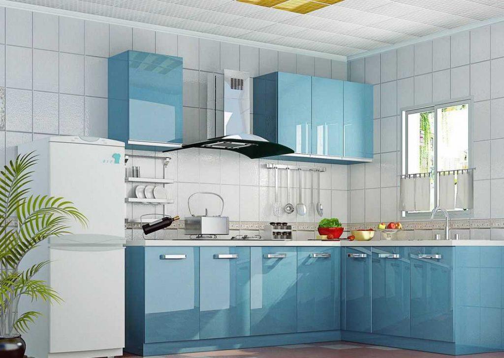 Tu bep arcylic 17 1024x729 - 20+ mẫu tủ bếp Arcylic sang trọng khiến bạn không thể rời mắt